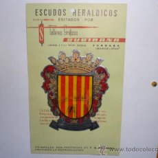 Pegatinas de colección: PEGATINA ADHESIVO ESCUDOS HERALDICOS. Lote 27957031