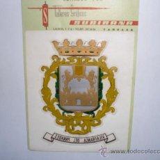 Pegatinas de colección: PEGATINA ADHESIVO ESCUDOS HERALDICOS. Lote 27957051