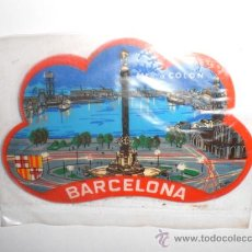 Pegatinas de colección: PEGATINA ADHESIVO BARCELONA. Lote 27957093