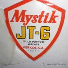 Pegatinas de colección: PEGATINA ADHESIVO MYSTIK. Lote 27957119