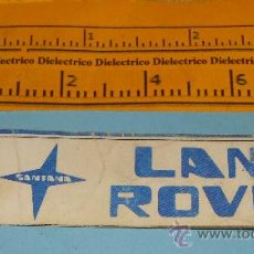 Pegatinas de colección: PEGATINA / CROMO. MARCAS. LAND ROVER MARCA COCHE. COCHES / MOTOS. AÑOS 80. . Lote 29480874