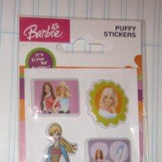 Pegatinas de colección: BARBIE,PUFFY STICKERS(PEGATINAS),MATTEL,2004,A ESTRENAR. Lote 237096925