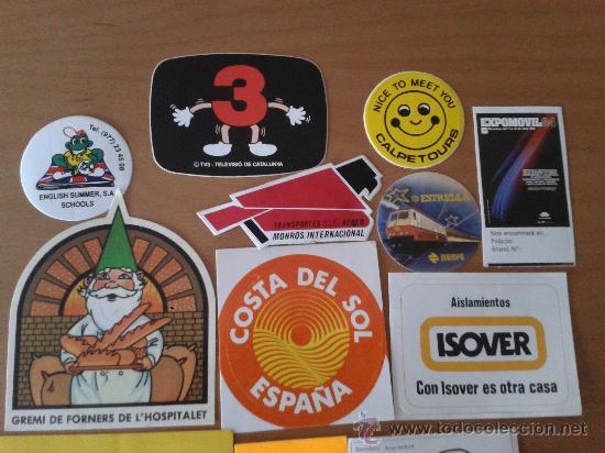 Pegatinas de colección: Lote de 15 adhesivos/pegatinas variadas - Foto 2 - 31167249