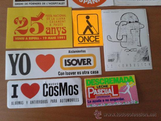 Pegatinas de colección: Lote de 15 adhesivos/pegatinas variadas - Foto 3 - 31167249