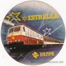 Pegatinas de colección: PEGATINA - ESTRELLA - RENFE. Lote 31326772