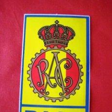 Pegatinas de colección: PEGATINA DEL RACE.... ENVIO GRATIS¡¡¡. Lote 278321888