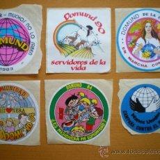 Pegatinas de colección: LOTE PEGATINAS RELIGIOSAS. Lote 31994644