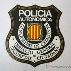 Pegatinas de colección: PEGATINA POLICIA AUTONOMICA GENERALITAT DE CATALUNYA . Lote 32555424