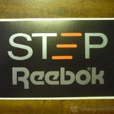 Adesivi di collezione: PEGATINA ADHESIVO STEP REEBOK. Lote 32794828