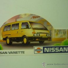 Autocollants de collection: PEGATINA ADHESIVO COCHES NISSAN. Lote 33024896