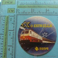 Pegatinas de colección: PEGATINA DE TRENES. RENFE ESPAÑA, FERROCARRIL ESTRELLA. AÑOS 80 90. . Lote 33568895