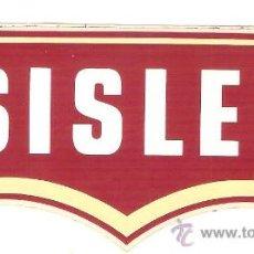 Pegatinas de colección: PEGATINA COMERCIAL - SISLEY - SIN DESPEGAR. Lote 34175685