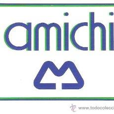 Pegatinas de colección: PEGATINA COMERCIAL - AMICHI - SIN DESPEGAR. Lote 34175699