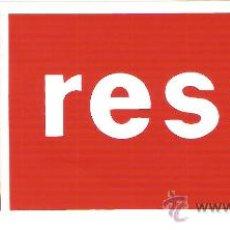Pegatinas de colección: PEGATINA COMERCIAL - RESSY - SIN DESPEGAR. Lote 34175722