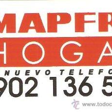Pegatinas de colección: PEGATINA COMERCIAL - MAPFRE HOGAR - SIN DESPEGAR. Lote 34213857