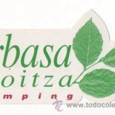 Adesivi di collezione: PEGATINA TEMA CAMPING URBASA BIOITZA NUEVA. Lote 34586099