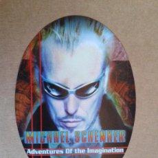 Pegatinas de colección: MICHAEL SCHENKER ADVENTURES OF THE IMAGINATION STICKER ADHESIVO PEGATINA. Lote 34606868