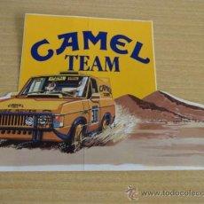 Pegatinas de colección: ADHESIVO / PEGATINA. CAMEL TEAM. PERFECTO SIN DESPEGAR.. Lote 56987119