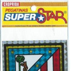 Pegatinas de colección: PEGATINA ADHESIVO ANTIGUA - CROPRIDA - ATLETICO DE MADRID - AÑOS 80 - SUPERSTAR - FUTBOL. Lote 40340313
