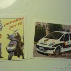 Pegatinas de colección: LOTE PEGATINAS ADHESIVOS POLICIA NACIONAL .-CNP MIRAMOS POR TI ¡. Lote 40801641