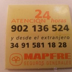 Pegatinas de colección: PEGATINA MAPFRE. Lote 40914128