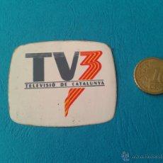 Pegatinas de colección: ADHESIVO PEGATINA TV3 TELEVISIÓN AUTONÓMICA CATALUÑA GENERALITAT DE CATALUNYA. Lote 41855852