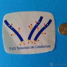 Pegatinas de colección: ADHESIVO PEGATINA TV3 TELEVISIÓN AUTONÓMICA CATALUÑA GENERALITAT DE CATALUNYA. Lote 41861029