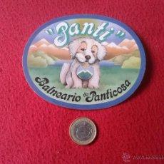Pegatinas de colección: PEGATINA ADHESIVO PANTI BALNEARIO DE PANTICOSA. Lote 41875902
