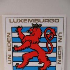 Pegatinas de colección: PEGATINA PABELLON LUXEMBURGO EXPO 92 SEVILLA. Lote 42114584