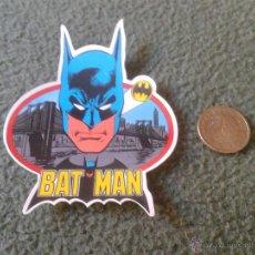 Pegatinas de colección: PEGATINA TROQUELADA ADHESIVO BATMAN SUPERHEROES COMICS COMIC ESCASA TENGO MAS PEGATINAS VER LOTES. Lote 43751869