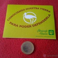 Pegatinas de colección: PEGATINA POLITICA REIVINDICATIVA ECOLOGISTAS ABRIENDO HUELLA CONOCIENDO NUESTRA TIERRA . Lote 45187895