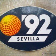 Pegatinas de colección: VENDO PEGATINA EXPO´92 DE SEVILLA. Lote 56601485