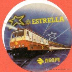 Pegatinas de colección: . PEGATINA ESTRELLA RENFE. Lote 46100985
