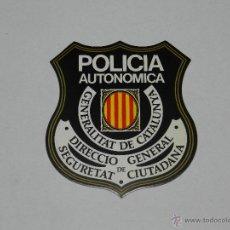 Pegatinas de colección: (3001) PEGATINA POLITICA POLICIA AUTONOMICA, GENERALITAT DE CATALUNYA. Lote 46560171