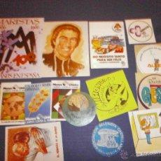 Pegatinas de colección: LOTE DE PEGATINAS RELIGIOSAS MARISTAS CARITAS ETC. Lote 46938717