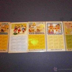 Pegatinas de colección: LOTE DE PEGATINAS CALENDARIOS DOMUND INFANCIA MISIONERA AÑOS 80. Lote 268585309