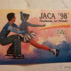 Pegatinas de colección: PEGATINA JACA 98. Lote 47045117