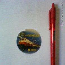 Pegatinas de colección: PEGATINA RENFE ESTRELLA. Lote 47104214