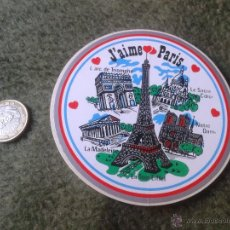 Pegatinas de colección: PEGATINA ADHESIVO STICKER PARIS FRANCIA FRANCE J'AIME TENGO MAS PEGATINAS VEAN MIS LOTES ESCASA. Lote 47403585