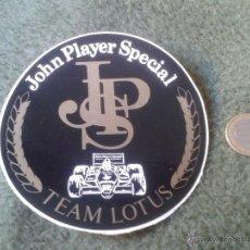 Pegatinas de colección: PEGATINA ADHESIVO STICKER JOHN PLAYER SPECIAL JPS TEAM EQUIIPO LOTUS FORMULA 1 F1 ? TENGO MAS PEGATI. Lote 47445040