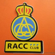 Pegatinas de colección: PEGATINAS - ADHESIVOS - RACC REAL AUTOMOBIL CLUB CATALUNYA. Lote 49913112