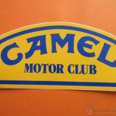 Pegatinas de colección: PEGATINAS - ADHESIVOS - CAMEL MOTOR CLUB. Lote 47621347