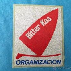 Autocollants de collection: PEGATINA DE BITTER KAS - ORGANIZACION - AÑOS 80 - WINDSURF. Lote 48947004