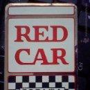 Pegatinas de colección: PEGATINA MOTOR COCHES AUTOMOVIL RED CAR ESPAÑA 5,5 X 8,5 CMS APROX. *P6 ... Lote 49249383