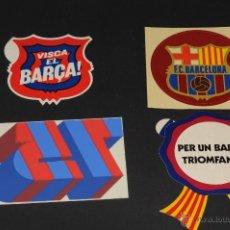 Pegatinas de colección: PEGATINAS F.C. BARCELONA CON EL PAPEL PROTECTOR ADHESIVO. Lote 49893961