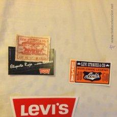 Pegatinas de colección: LOTE DE PEGATINAS LEVIS AÑOS 90. Lote 49901450