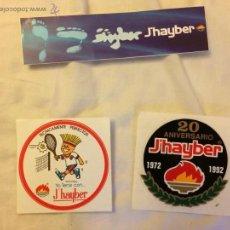Pegatinas de colección: PEGATINAS J HAYBER AÑOS 90. Lote 49908949