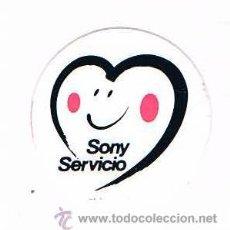 Pegatinas de colección: PEGATINA ANTIGUA SONY SERVICIO. Lote 50949198