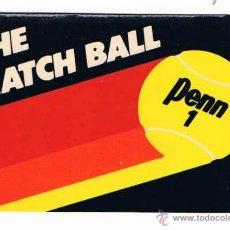 Pegatinas de colección: PEGATINA ANTIGUA THE MATCH BALL PENN 1. Lote 50949209