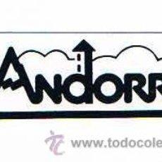 Pegatinas de colección: PEGATINA ANTIGUA ANDORRA. Lote 50949216